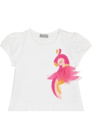 Il gufo Baby cotton T-shirt