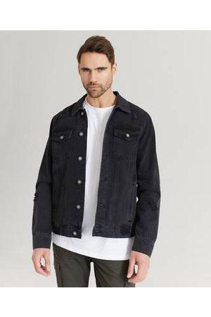 William Baxter Jeansjakke Destroyed Denim Jacket