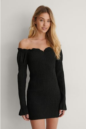 Lisa-Marie Schiffner x NA-KD Dame Off shoulder - Off Shoulder-Kjole