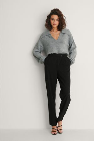 NA-KD Dame Chinos - Crossed Waist Suit Pants