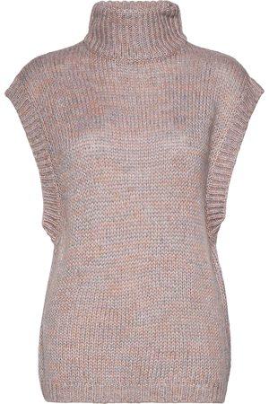 Envii Dame Vester - Enbirke Sl Knit 5247 Vests Knitted Vests Rosa