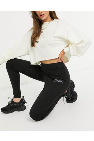 The Couture Club Outline logo highwaisted leggings-Black
