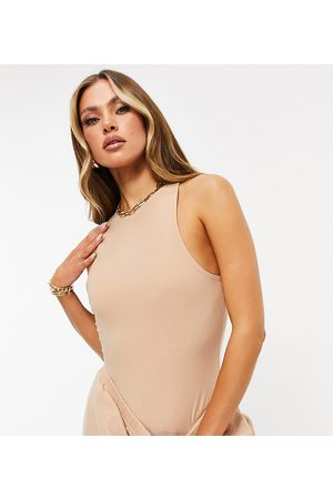 Missyempire Exclusive racer back body in sand