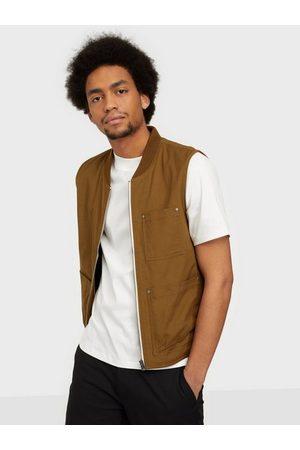 Selected Slhbaker Cotton Vest W Jakker Breen