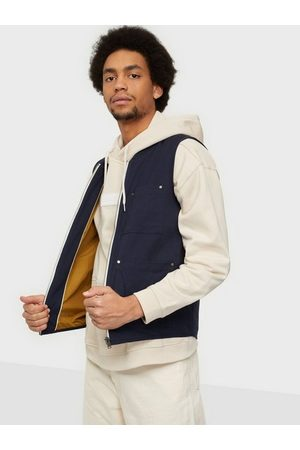 Selected Slhbaker Cotton Vest W Jakker Dark Sapphire