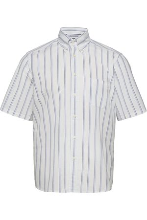 Eton Contemporary Fit Casual Oxford Shirt Kortermet Skjorte