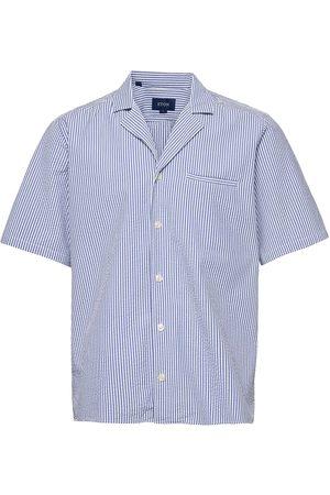 Eton Herre Kortermede - Contemporary Fit Casual Poplin Shirt Kortermet Skjorte