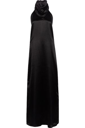 Bottega Veneta Satin maxi dress