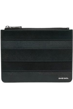 Diesel Herre Lommebøker - Calf leather stripe wallet