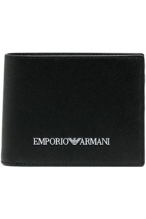 Emporio Armani Herre Lommebøker - Logo-print billfold wallet
