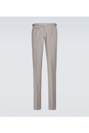 Incotex Herre Chinos - Single-pleated chino pants