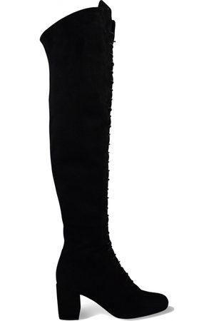 Saint Laurent Dame Høye støvletter - Lace-up over-the-knee