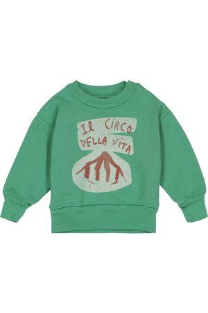 The Animals Observatory Baby Bear cotton sweatshirt