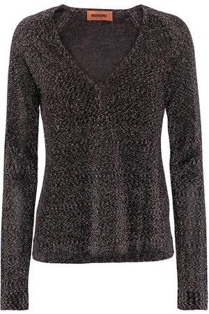 Missoni Metallic V-neck sweater
