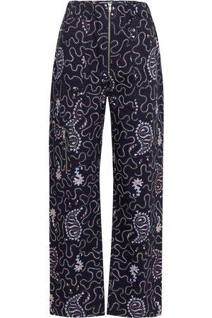 Isabel Marant Noferis paisley cotton pants