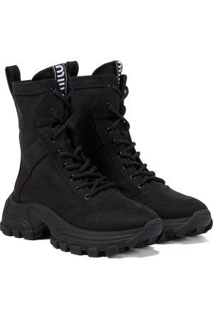 Miu Miu Lace-up combat boots