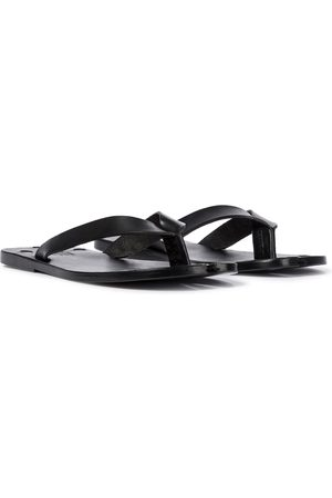 Maison Margiela Tabi leather thong sandals