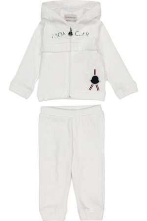 Moncler Baby cotton jersey tracksuit