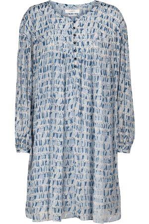 Isabel Marant Silorion tie-dye chiffon minidress