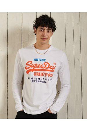 Superdry Herre Langermede - Vintage Logo Tri-topp med lange ermer