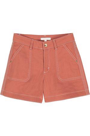 Chloé Stretch-cotton shorts