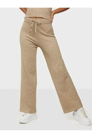 NLY Trend Dame Slengbukser - Off Topic Knit Pants
