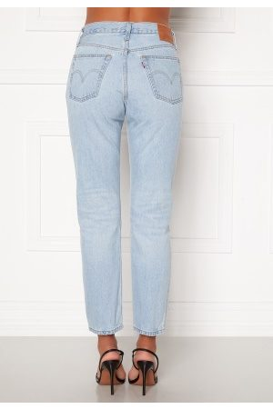 Levi's Dame Straight - 501 Crop Jeans 0124 Luxor Ra 26/26