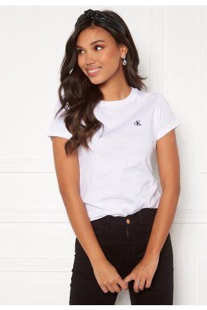 Calvin Klein CK Embroidery Slim Tee Bright White L