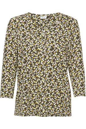 Gerry Weber Dame Kortermede - T-Shirt 3/4-Sleeve R T-shirts & Tops Short-sleeved