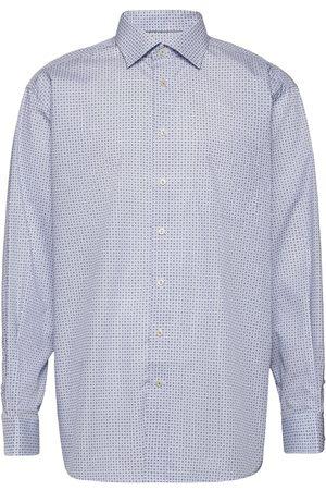 Eton Herre Langermede - Classic Fit Business Poplin Shirt Skjorte Business Hvit