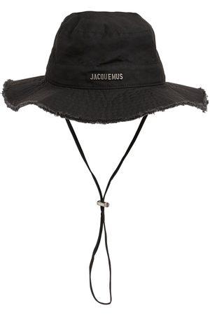 Jacquemus Herre Hatter - Le Bob Artichaut Canvas Bucket Hat