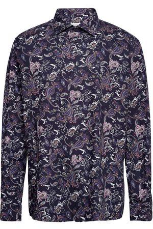 Eton Herre Langermede - Contemporary Fit Business Casual Signature Twill Shirt Skjorte Uformell