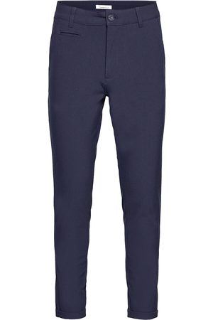 Knowledge Cotton Apparal Joe Classic Ecovero™ Club Pant - Gr Chinos Bukser Blå