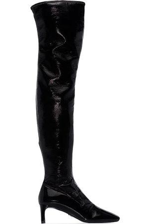 Prada Dame Høye støvletter - 55mm knee-length boots