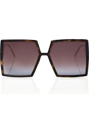 Dior Dame Solbriller - 30Montaigne SU oversized sunglasses
