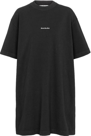 Acne Studios Logo cotton T-shirt dress