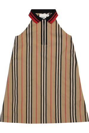 Burberry Icon Stripe cotton gabardine dress