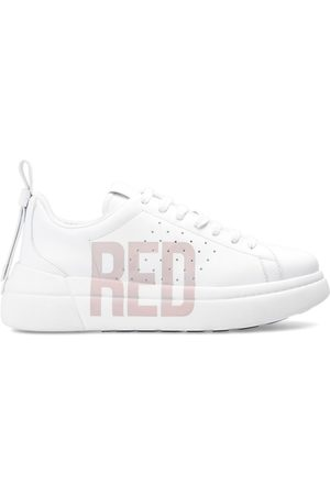 RED Valentino Logo-printed sneakers