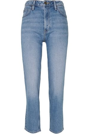 Lee Carol Cropped Straight Jeans