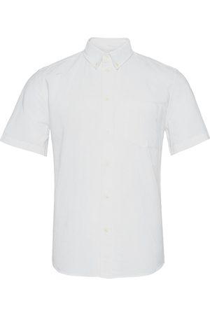 Wood Wood Michael Oxford Shirt Ss Kortermet Skjorte