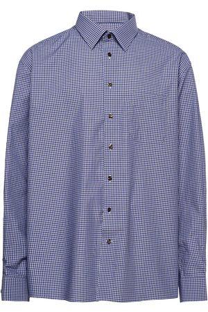 Eton Herre Langermede - Classic Fit Business Casual Fine Twill Shirt Skjorte Uformell