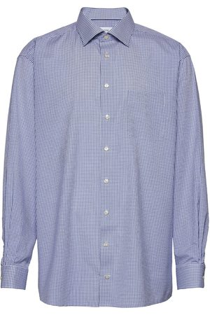 Eton Herre Langermede - Classic Fit Business Poplin Shirt Skjorte Business