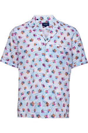 Eton Contemporary Fit Casual Muslin Shirt Kortermet Skjorte