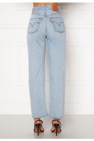 LEVI'S Dame Straight - Ribcage Straight Ankle 0055 Middle Road 25/29