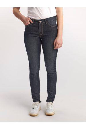 Lindex Mørkeblå TOVA-jeans i smal passform
