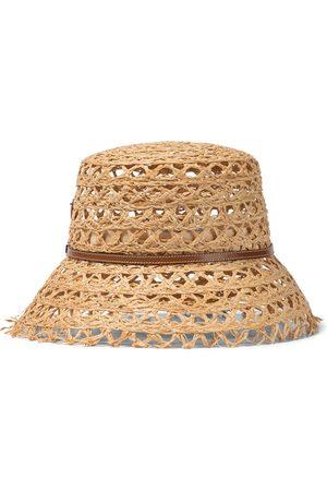 Prada Raffia bucket hat