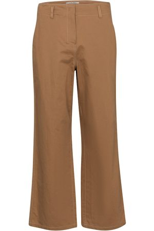 Max Mara Faesite cropped cotton-blend pants
