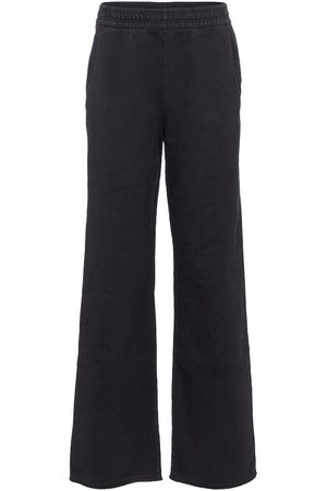Acne Studios Wide-leg cotton trackpants
