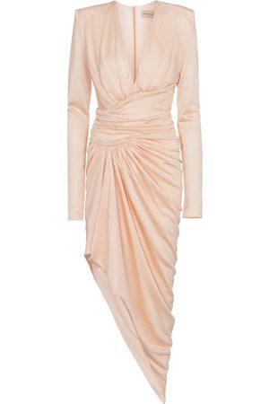 ALEXANDRE VAUTHIER Stretch-jersey midi dress