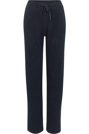 Loro Piana Dame Bukser - High-rise cotton trackpants